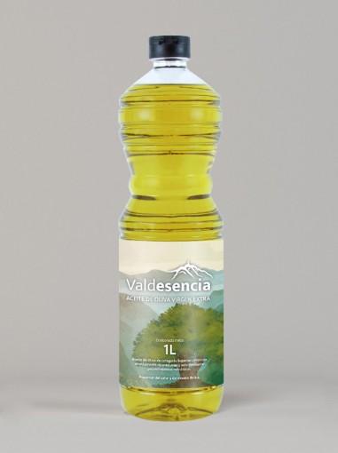 Aceite de Oliva Virgen Extra Valdesencia 1L (Caja de 15 unidades)