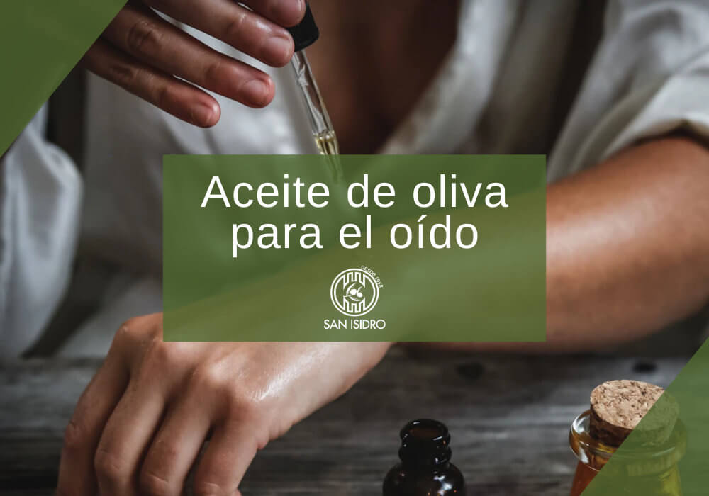 Utilizar el aceite de oliva para limpiar el oído