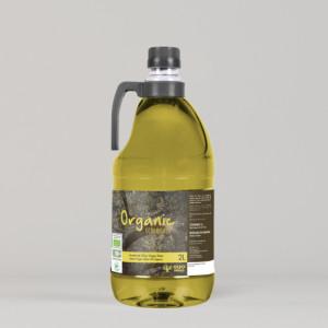 Oleopeñas Organic 2L. Aceite de Oliva Virgen Extra Ecológico