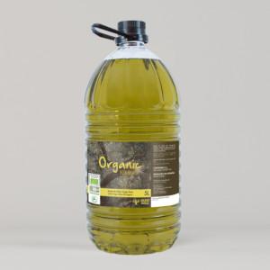 Oleopeñas Organic 5L. Aceite de Oliva Virgen Extra Ecológico.