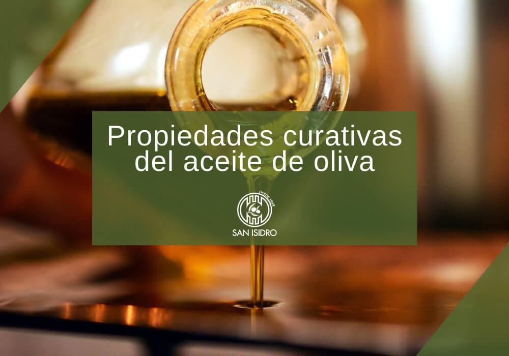 Propiedades curativas del aceite de oliva